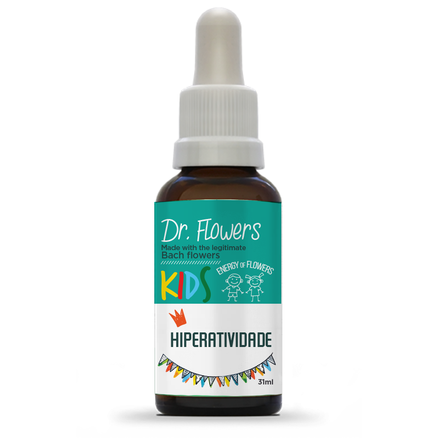 Hiperatividade | Dr. Flowers Kids | Vidro | 31ml