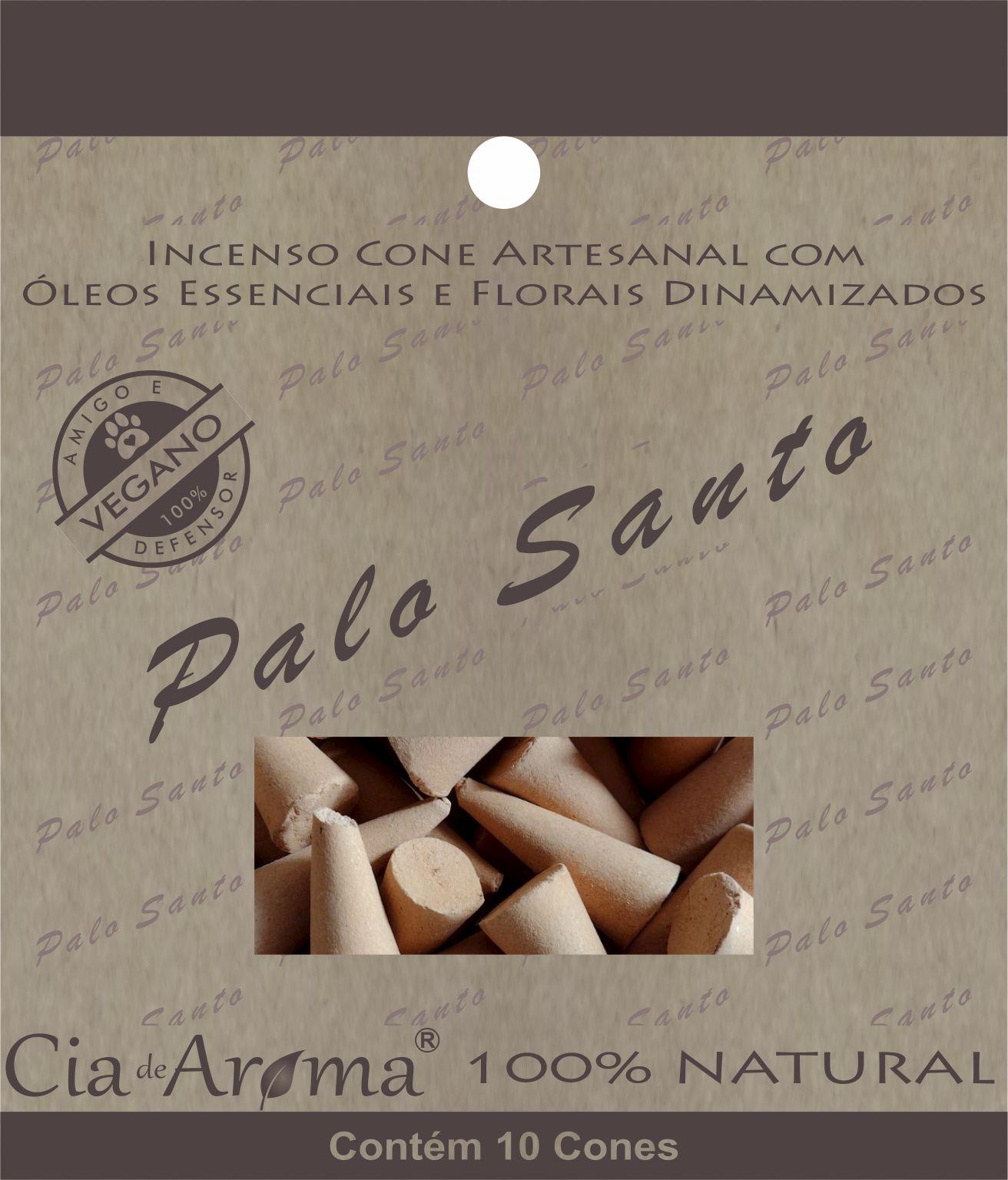 Incenso Cone Palo Santo | 10 Cone