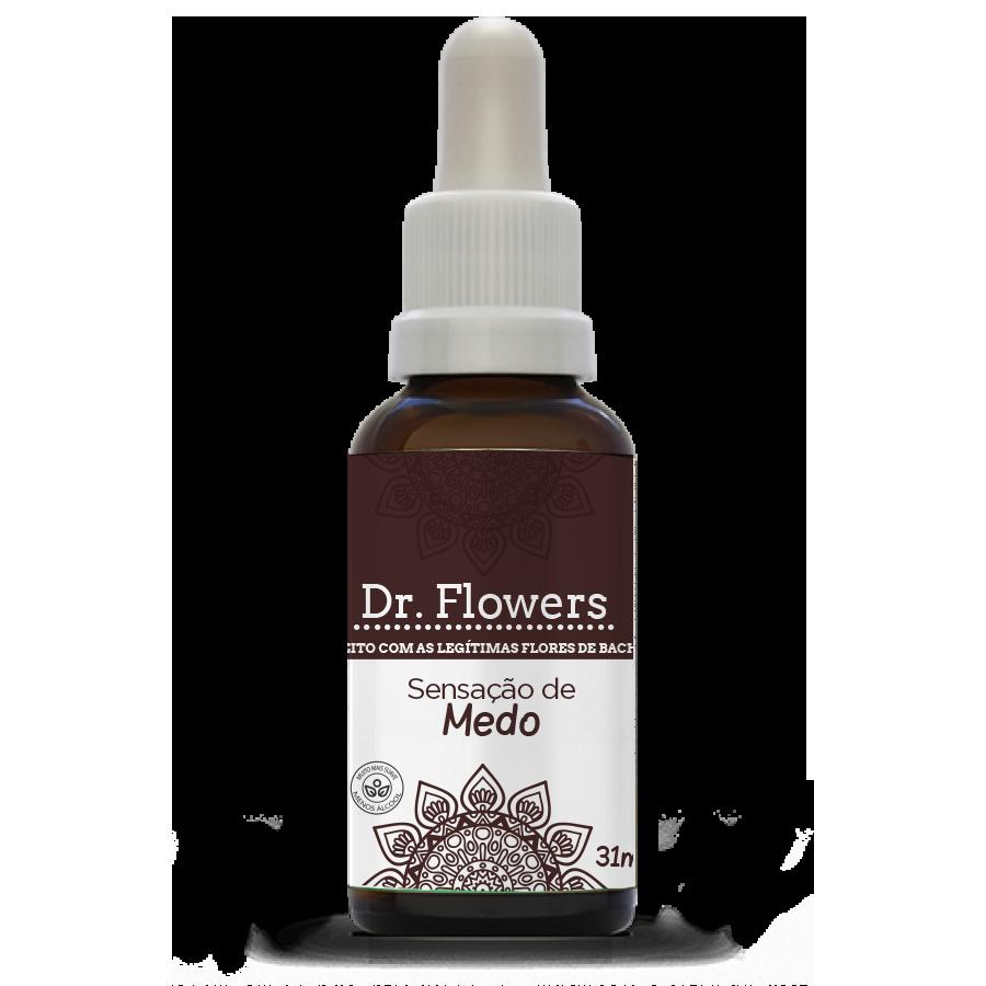 Sensação de Medo | Dr. Flowers Adulto | Vidro | 31ml