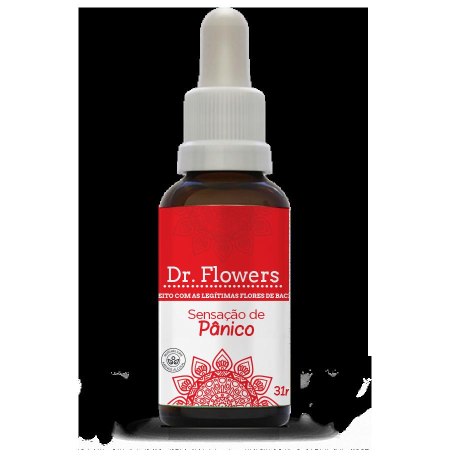 Sensação de Pânico | Dr. Flowers Adulto | Vidro | 31ml