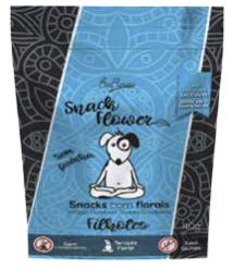 Snack Flower Filhotes para Cães | Floral Pet | Sache 40g