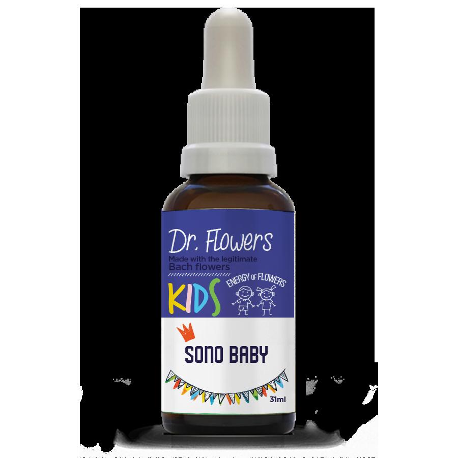Sono Baby | Dr. Flowers Kids | Vidro | 31ml