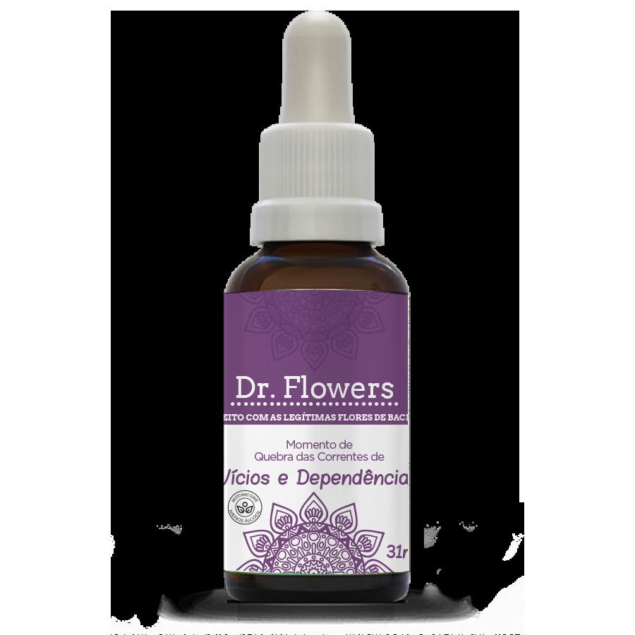 Vícios e Dependências | Dr. Flowers Adulto | Vidro | 31ml