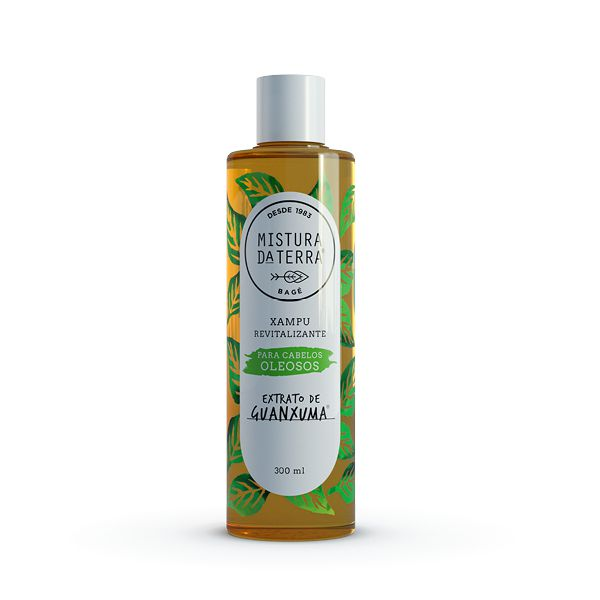 Xampu Extrato de Guanxuma | Cabelos Oleosos | 300ml