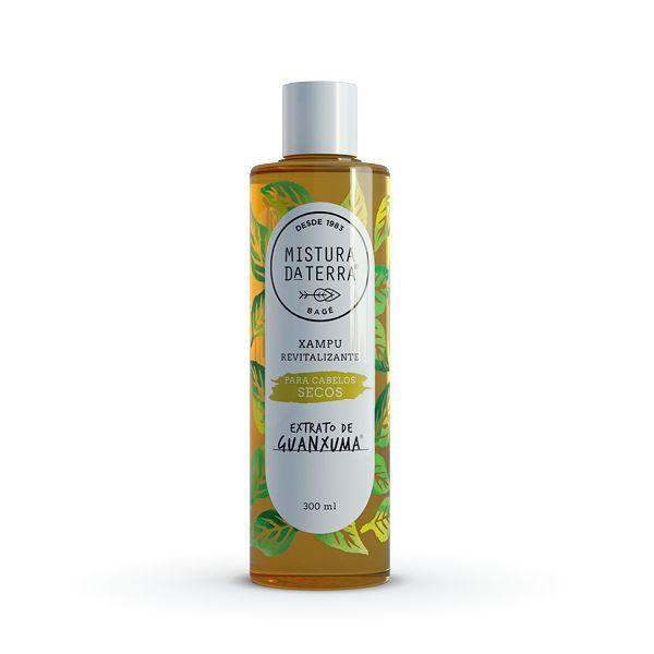 Xampu Extrato de Guanxuma | Cabelos Secos | 300ml