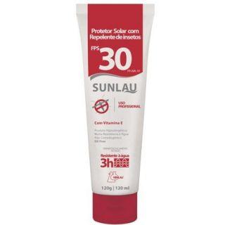 Protetor Solar Com Repelente de Insetos FPS 30 HENLAU