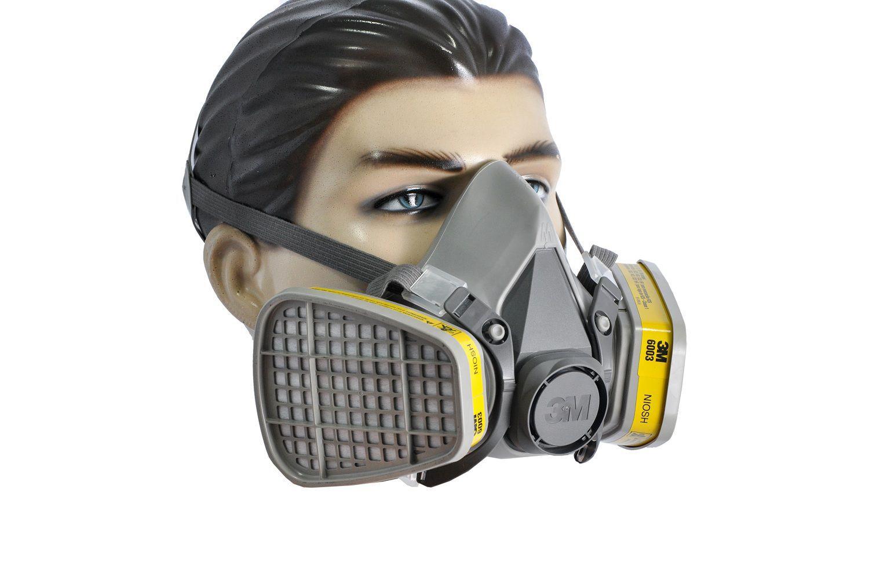 Mascara semifacial 6200 3M   (KIT COMPLETO)