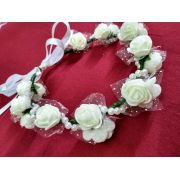 Coroa de Flores Branca