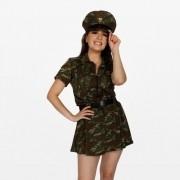 Fantasia Militar Feminino