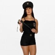 Fantasia Policial Macacão Feminino Adulto