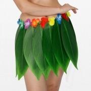 Fantasia Saia de Folhas Havaiana