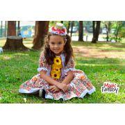 Vestido Junino Vermelho - Infantil