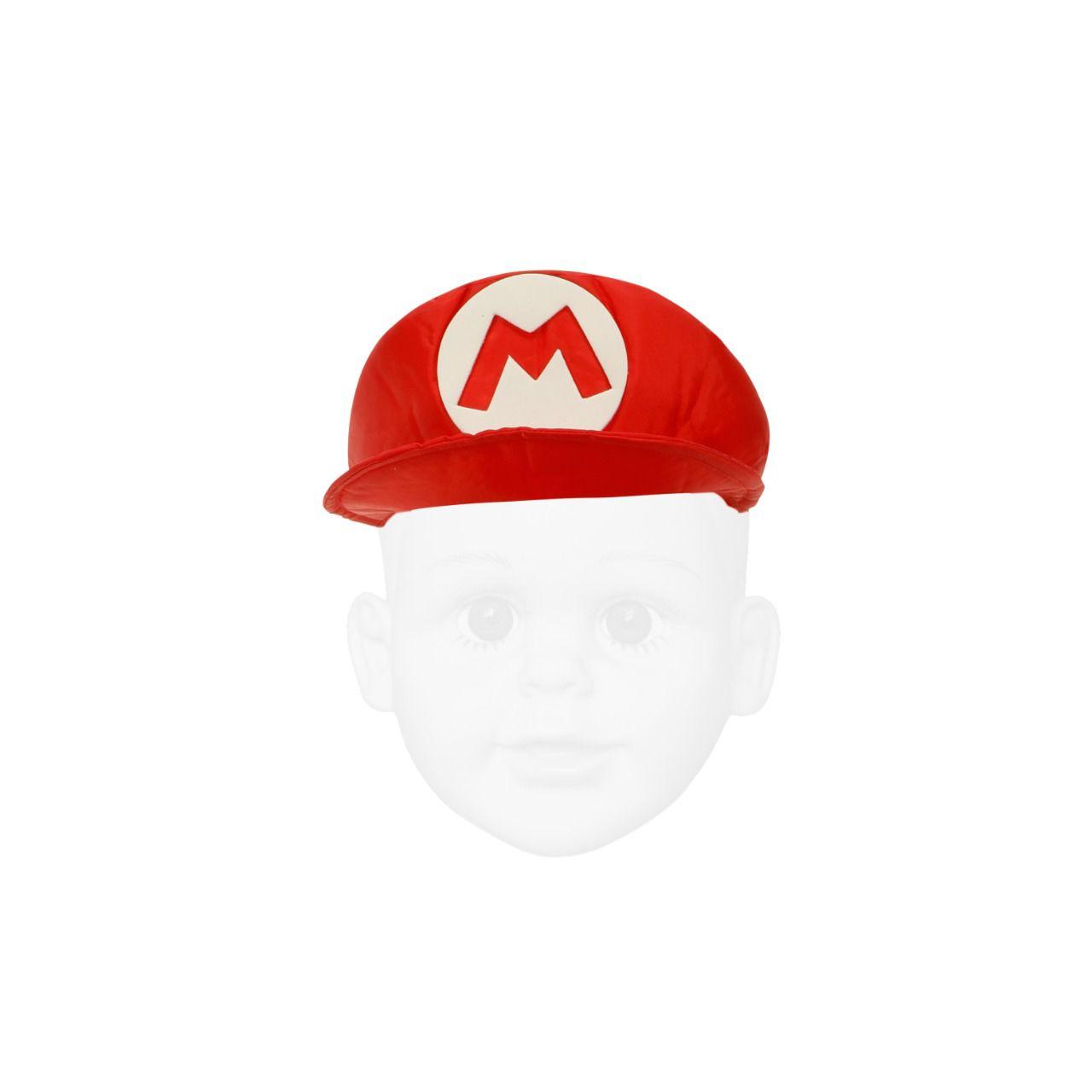 Chapéu do Mario Infantil