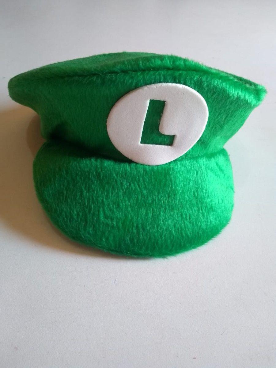 Chapéu Encanador Mario/Luigi Camurça Infantil