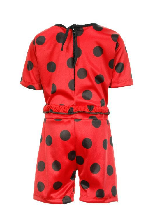 Fantasia Lady Bug Shorts Infantil