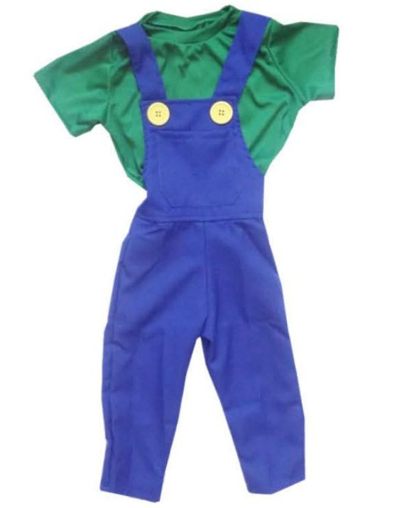 Fantasia Luigi Infantil