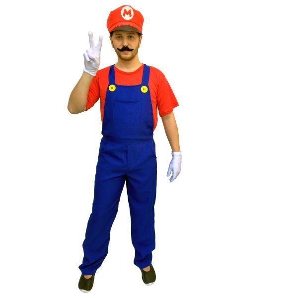 Fantasia Mario Adulto Masculino