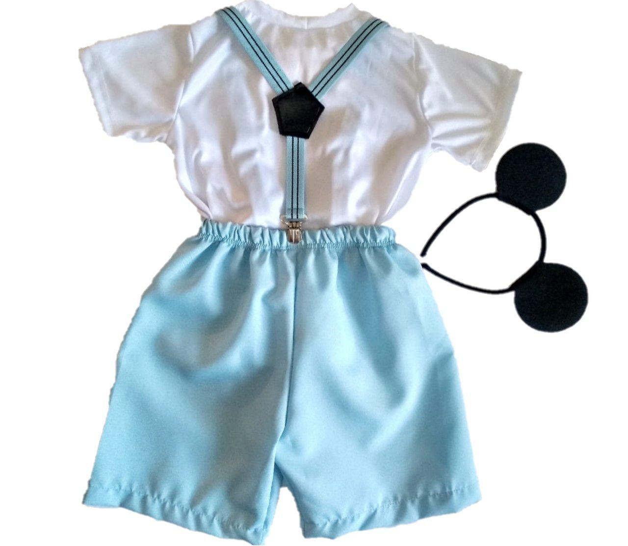 Fantasia Infantil Mickey Baby