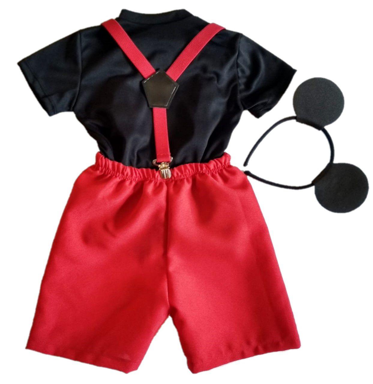 Fantasias Infantis Mickey Mágico e Mickey Baby