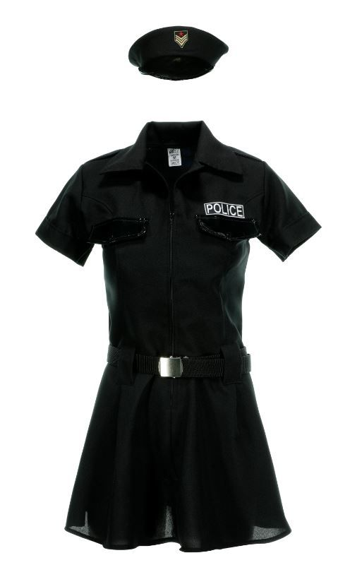 Fantasia de Policial Feminino Adulto
