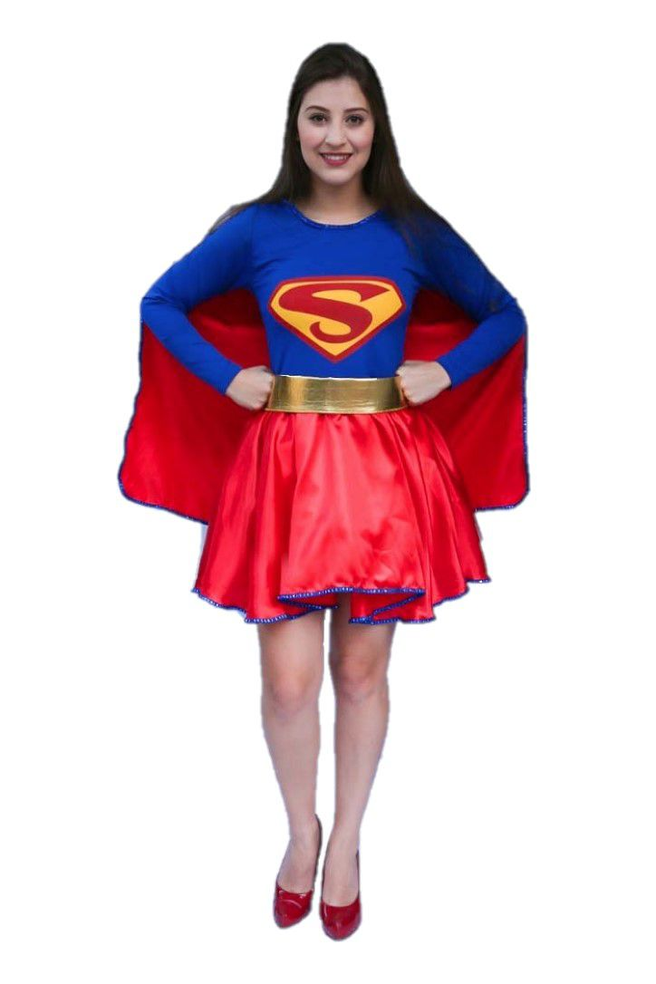 Fantasia Super Girl Adulta