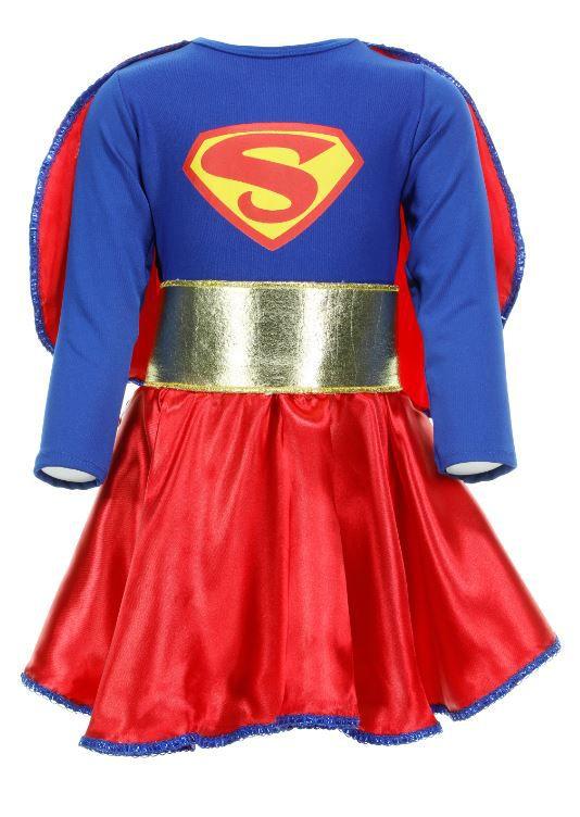 Fantasia Super Girl Infantil