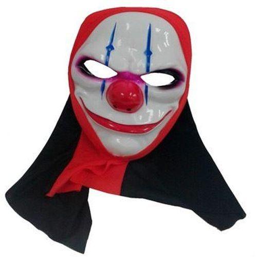 Máscara com Capuz - Palhaço Assassino