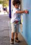 Pochete Infantil Triângulos Color