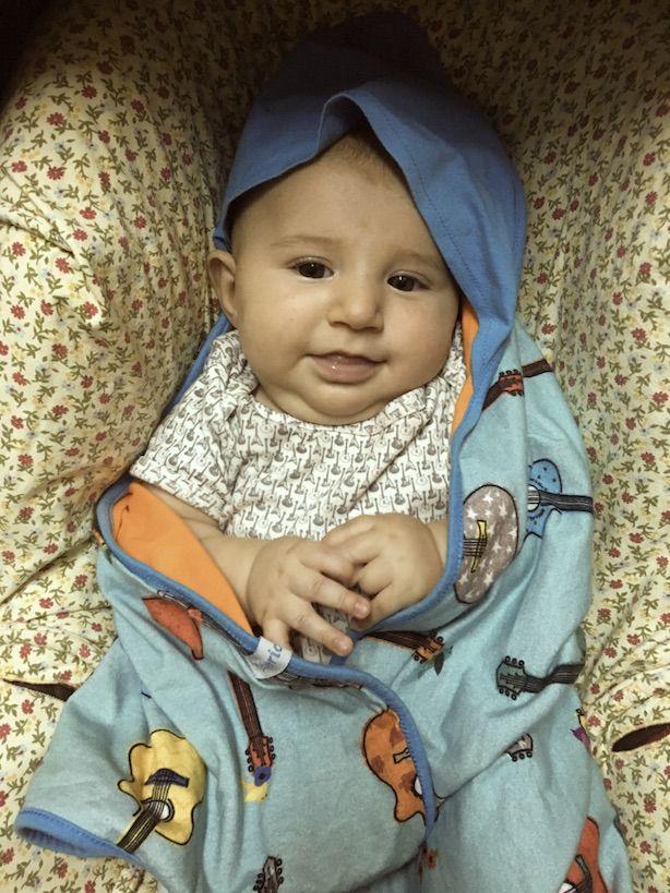 Manta Malha Bebê