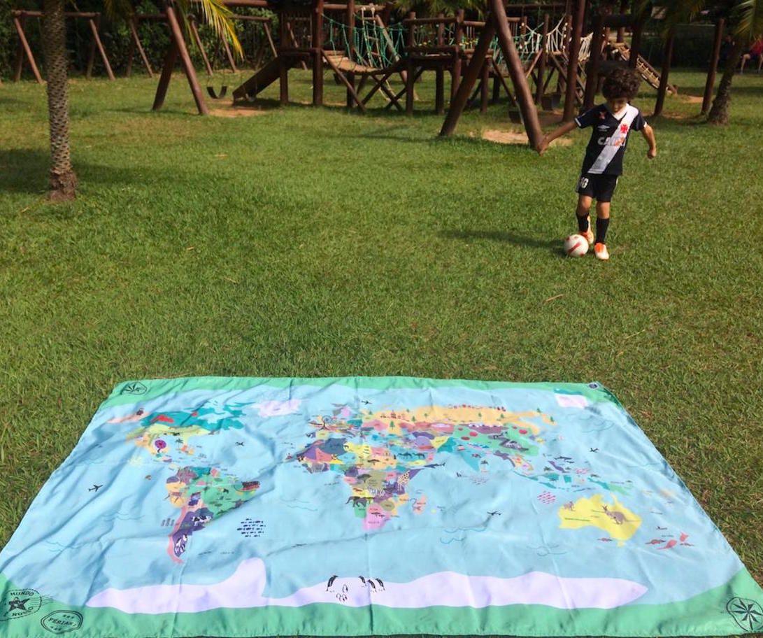 Maxi Canga Mapa Mundi