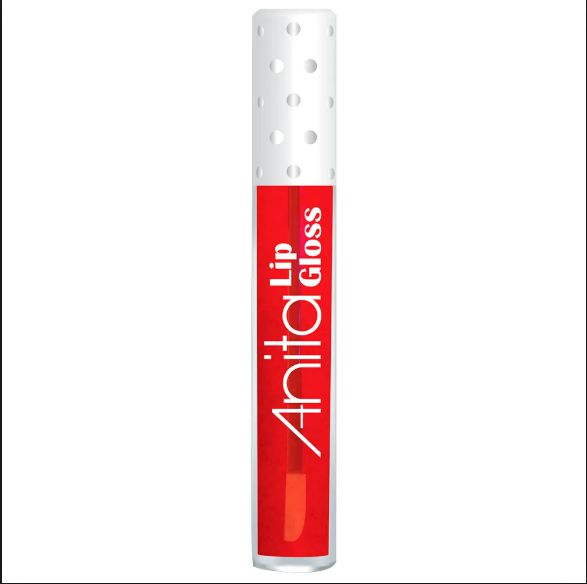 Lip Gloss Labial Vermelho - Anita