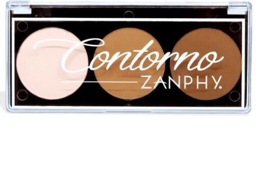 PALETA ZANPHY CONTORNO C/3 CORES