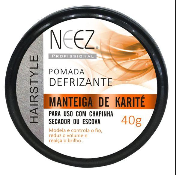 Pomada Capilar Defrizante Manteiga de Karité - Neez