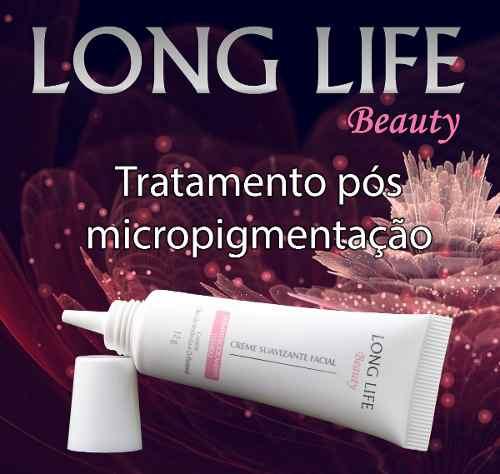 LONG LIFE BEAUTY - Pomada Para Micropigmentação - Promoção Compre 3 E Leve 4
