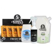 Fresh Skin 40 ml - Creme Suavizante (18un) +  Sabonete Cremoso 80 ml + Vasellyn Fresh 200g + Transfer Loção 100 ml