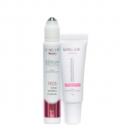 (Kit Sobrancelhas)  Creme Beauty para Micropigmentação + Sérum Fortalecedor para Sobrancelha