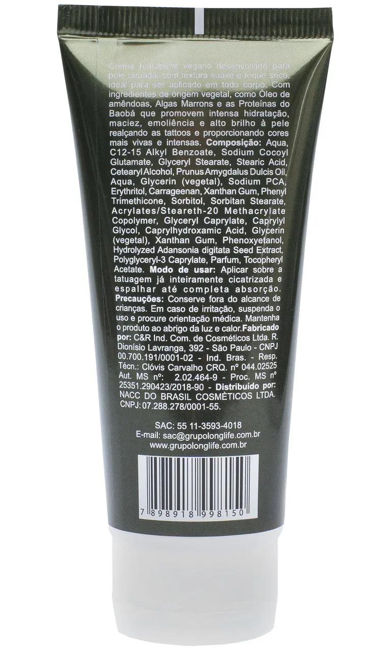 Hidratante para Tatuagem 90 ml - VEGANO - Genderless
