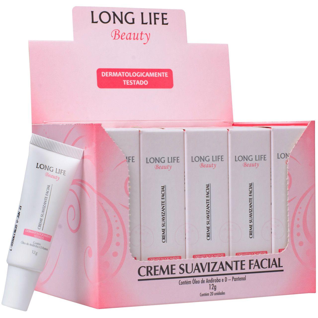 Creme Pós Micropigmentação - Long Life Beauty 12g - Caixa com 20 unds.