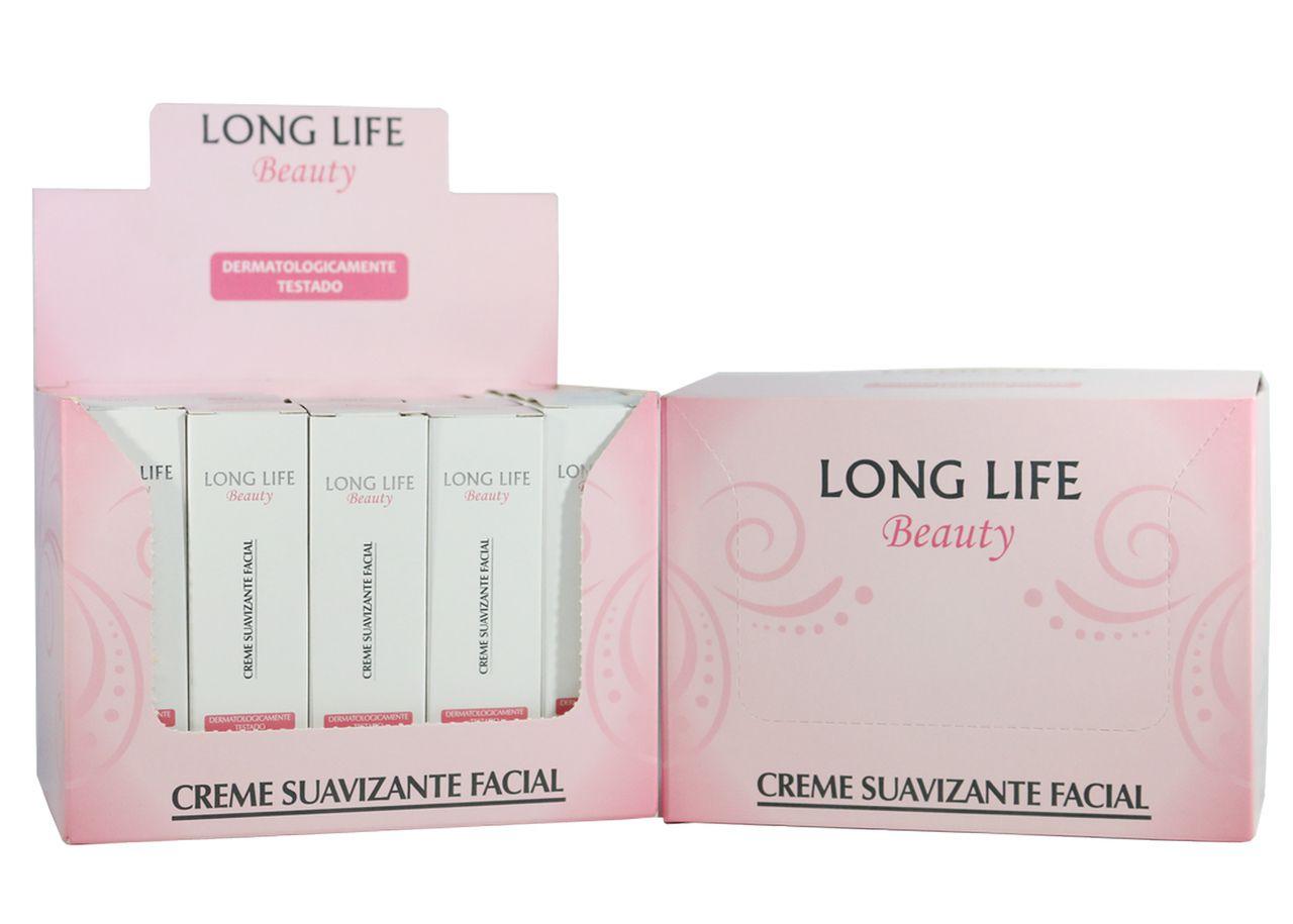 Creme Suavizante Facial Beauty - 2 caixas (40 unds.)