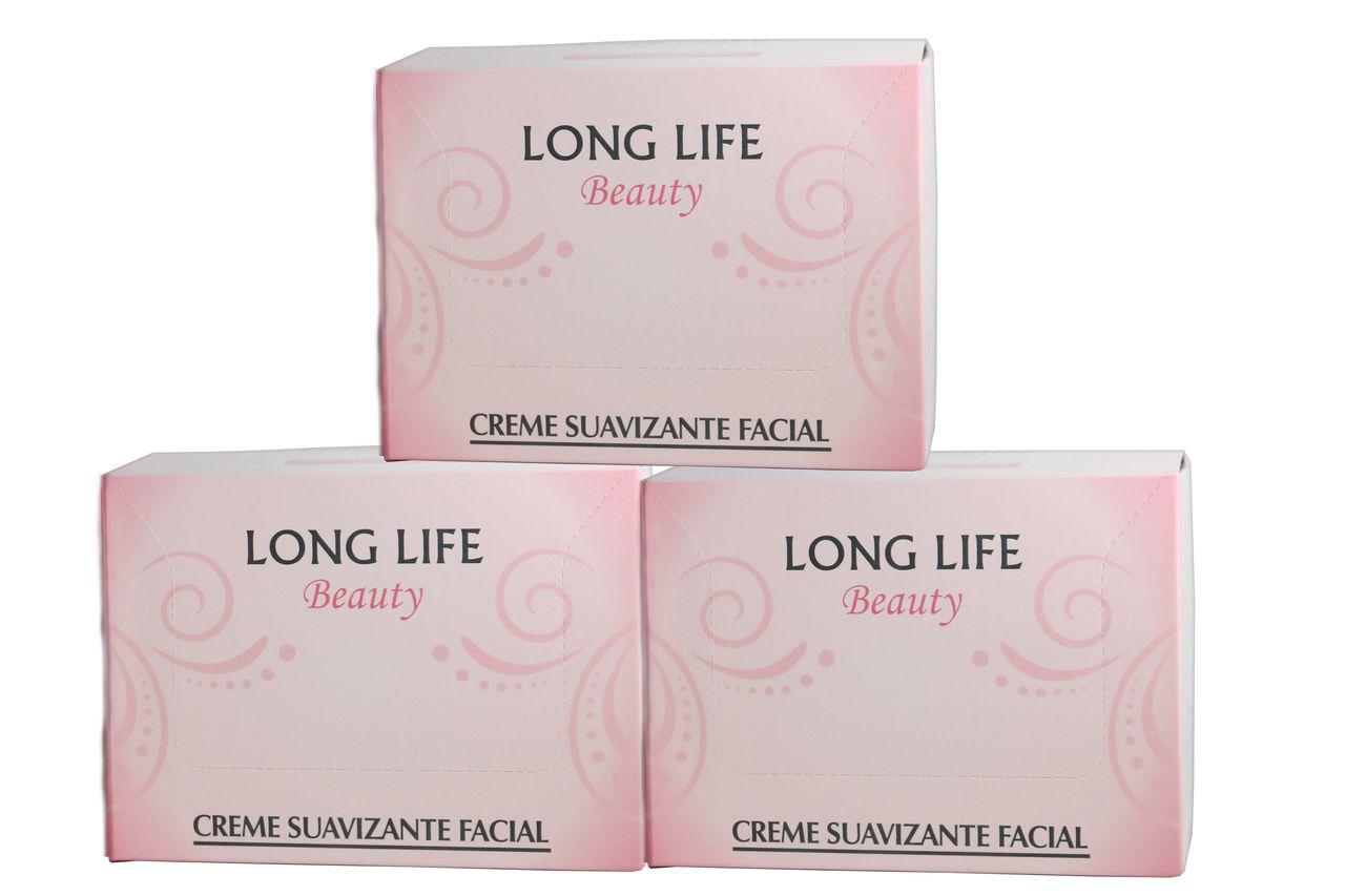 Creme Suavizante Facial Beauty 12g - 3 caixas (60 unds.)