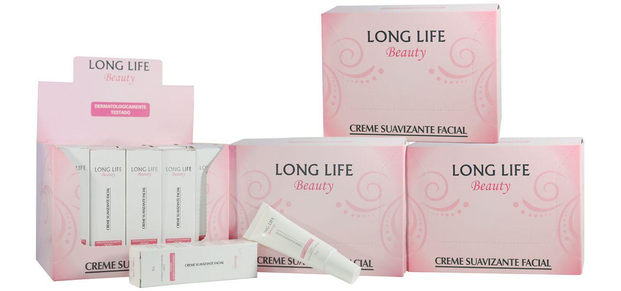 Creme Suavizante Facial Beauty - 4 caixas (80 unds.)