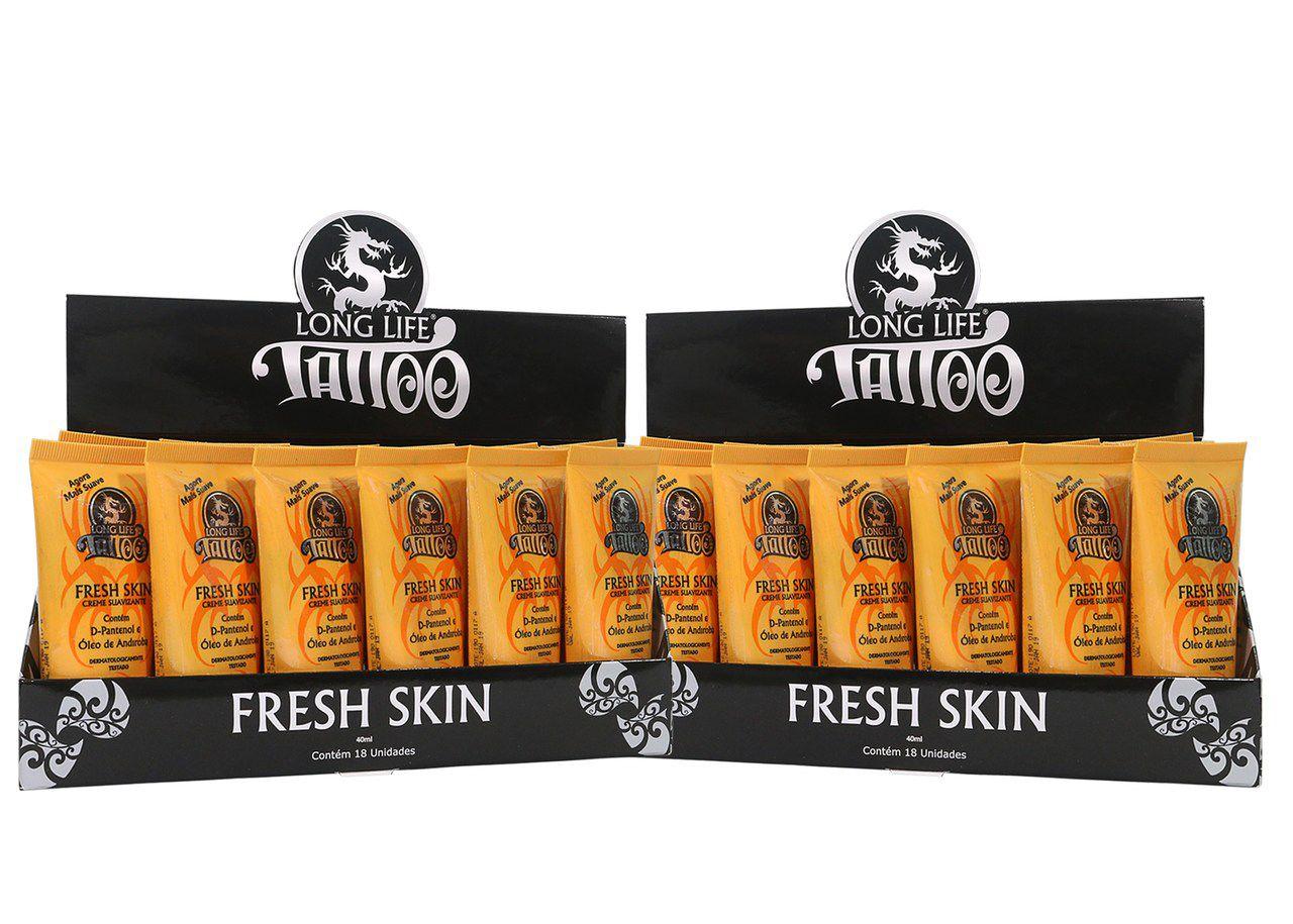 Fresh Skin 40 ml - Creme Suavizante - 2 CX (36 unds.)