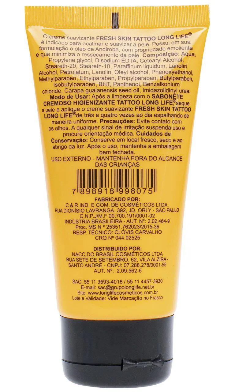 Fresh Skin Suavizante Creme 40ml  - Para Tatuagem - (1 unid)