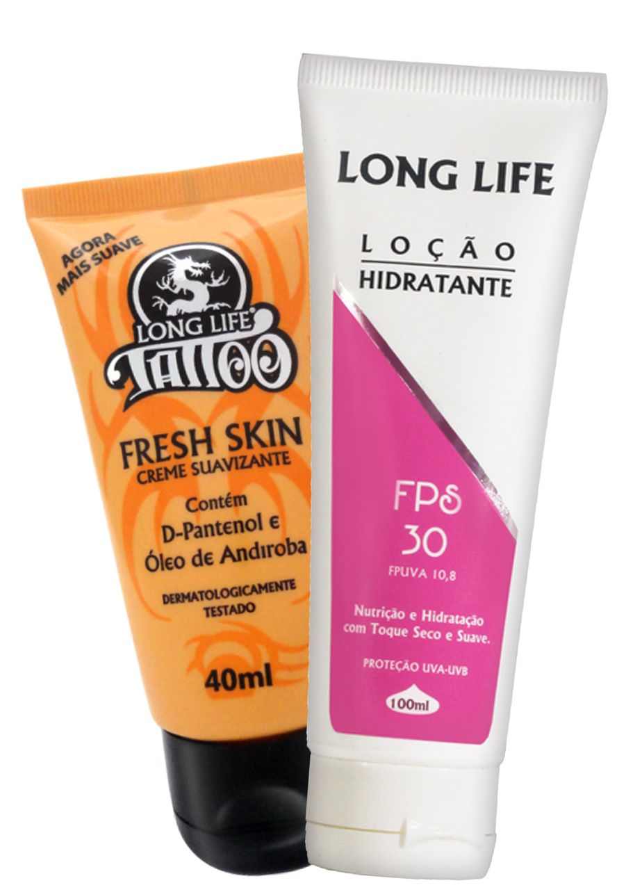 Fresh Skin 40 ml + Loção Hidratante FPS 30 100 ml