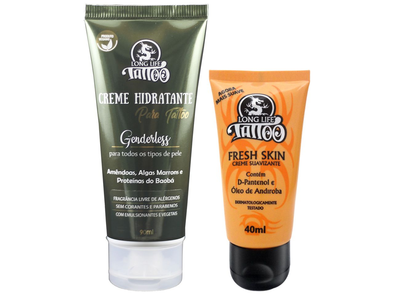 Kit de Cuidados (Fresh Skin Creme 40 ml + Hidratante para Tattoo Genderless)