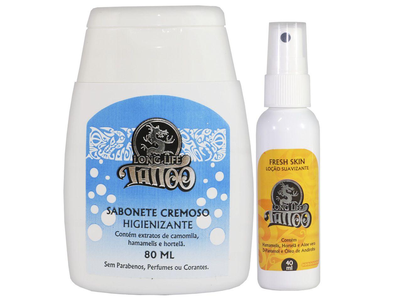 Kit de Cuidados (Fresh Skin Loção 40 ml + Sabonete Cremoso 80 ml )
