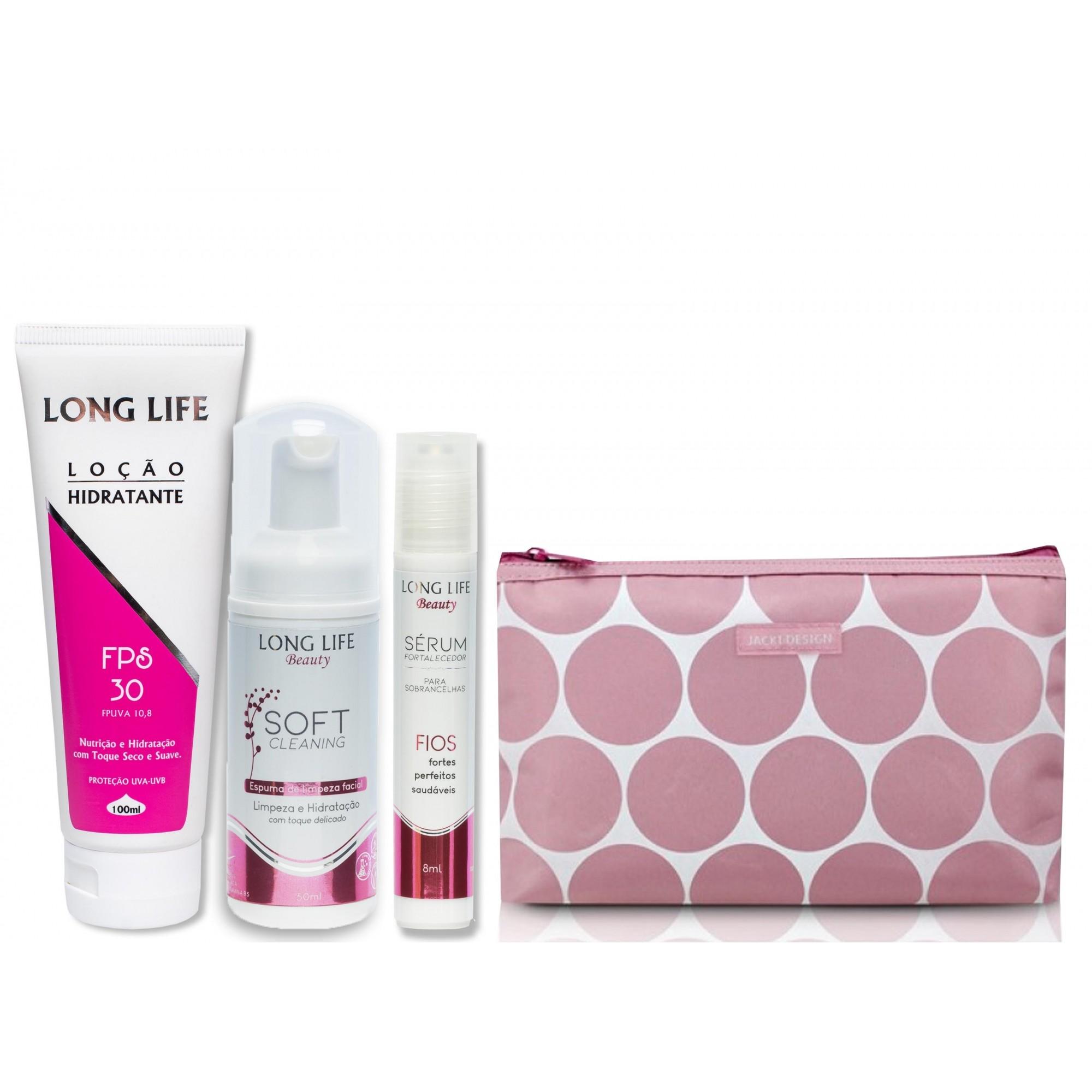 Kit Master Skin Care - Sérum Fortalecedor 8 ml + Soft Cleaning 50 ml + Hidratante FPS 30 100 ml