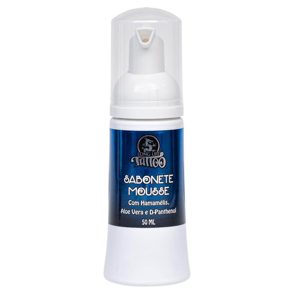 Sabonte Mousse Vegano para Tatuagem/piercing 50ml