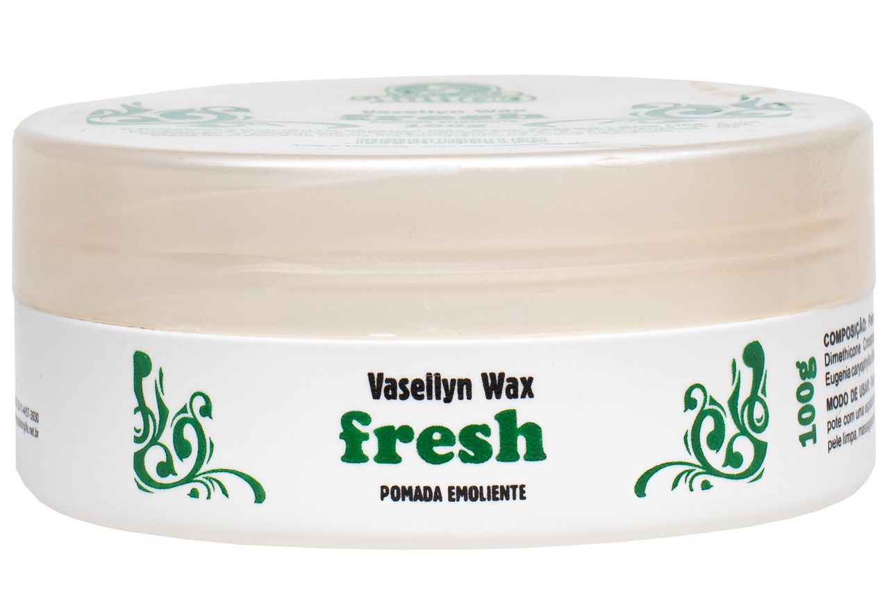 Vaselina para Tatuagem - Vasellyn Wax Fresh - 100g