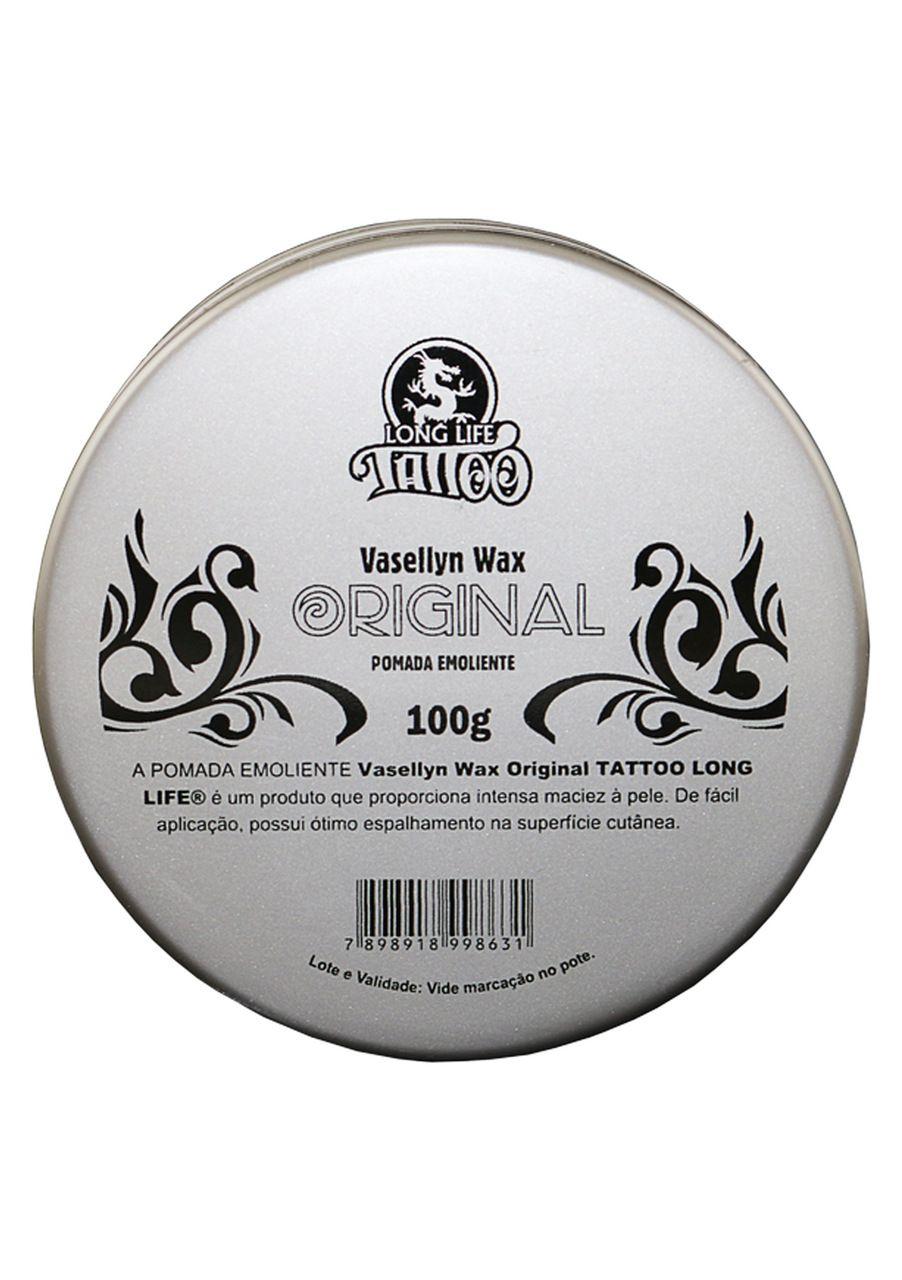 Vaselina para Tatuagem- Vasellyn Wax Original - 100g